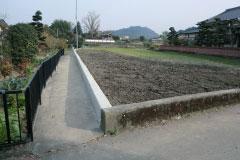 農園、農家様の水田整備