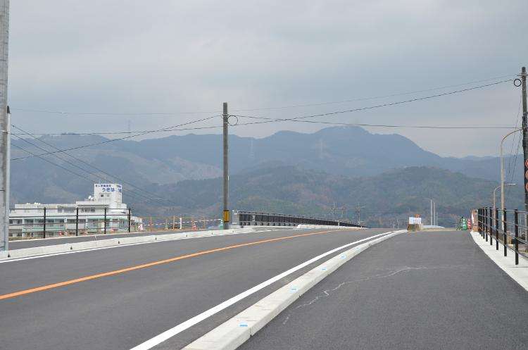 寿橋 橋取り付け工事