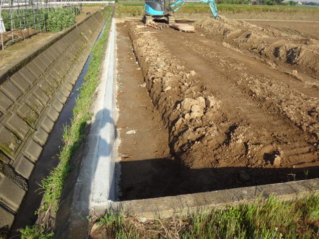 久留米で土木工事
