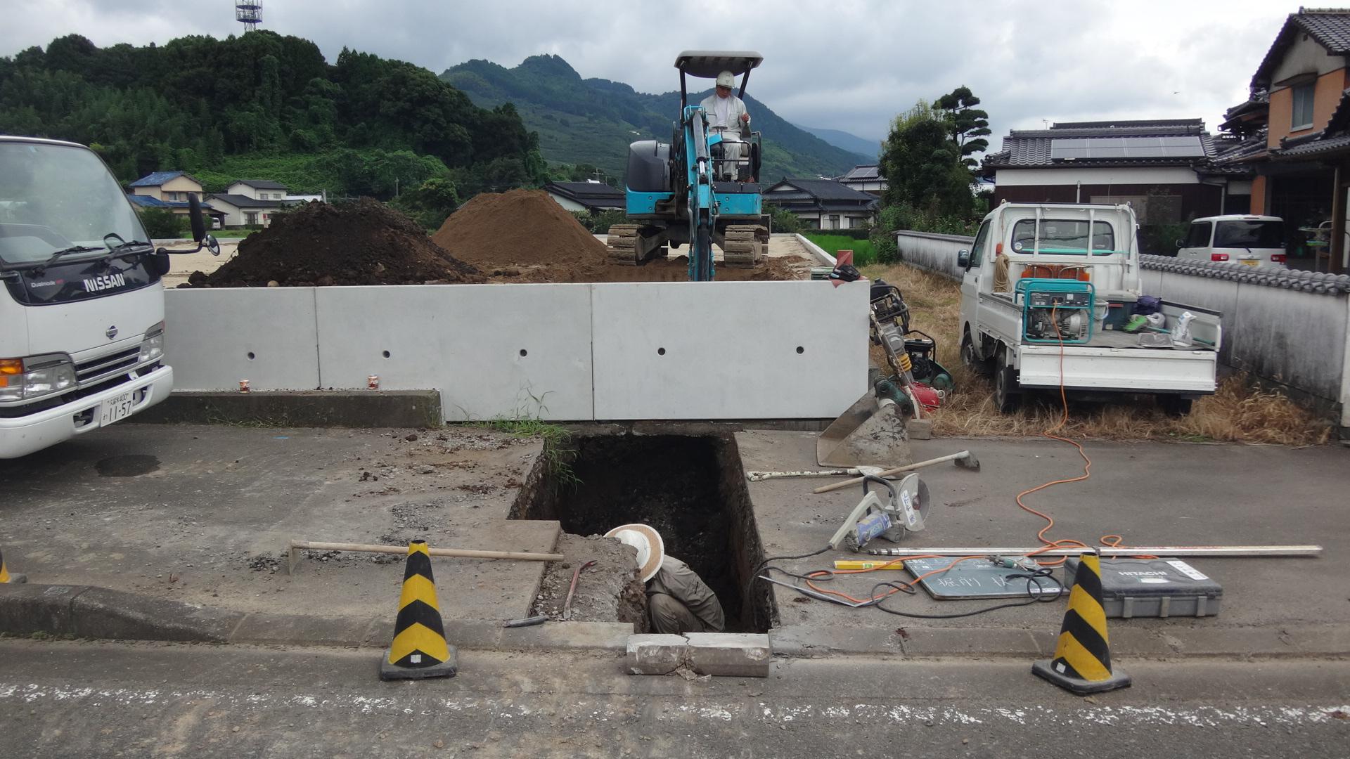 下水排水施設工事