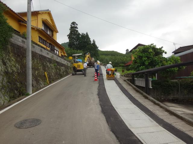 道路側溝工事