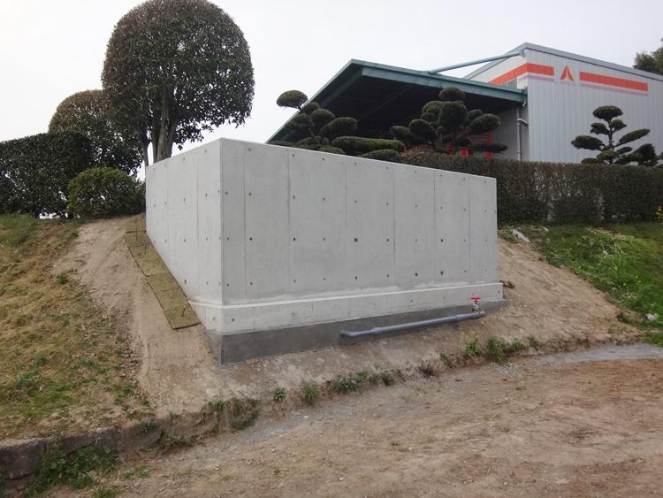 防火水槽の設置