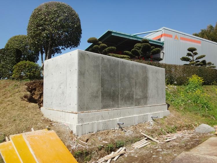 防火水槽設置工事
