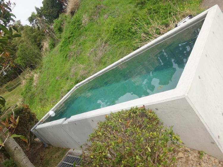 排水用の水槽