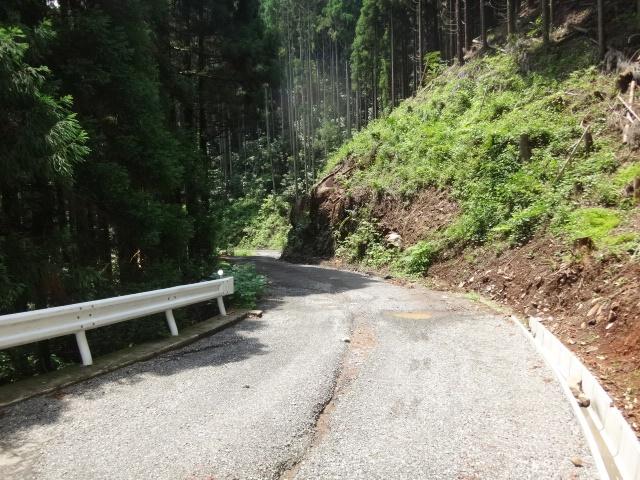 林道整備工事