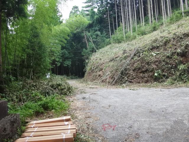 林道開設工事