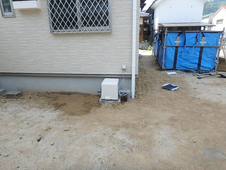 家庭用ポンプ設置工事
