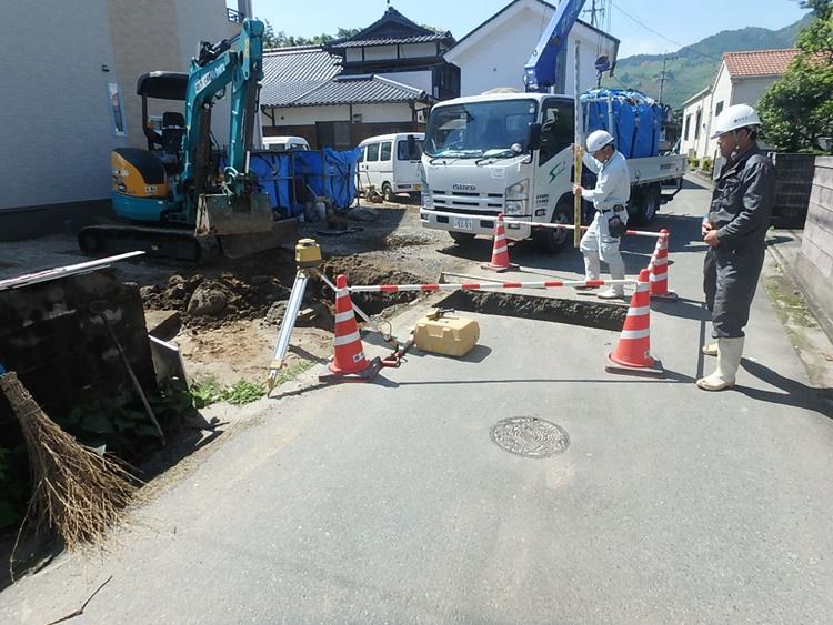 公共桝および取付管工事