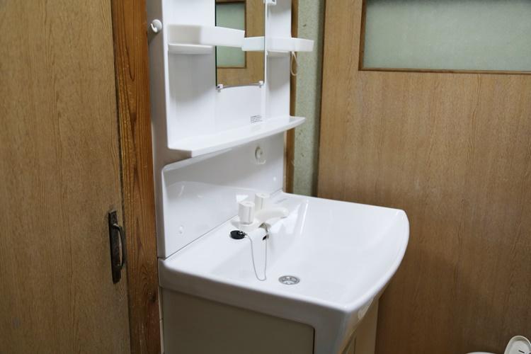 洗面所の改装