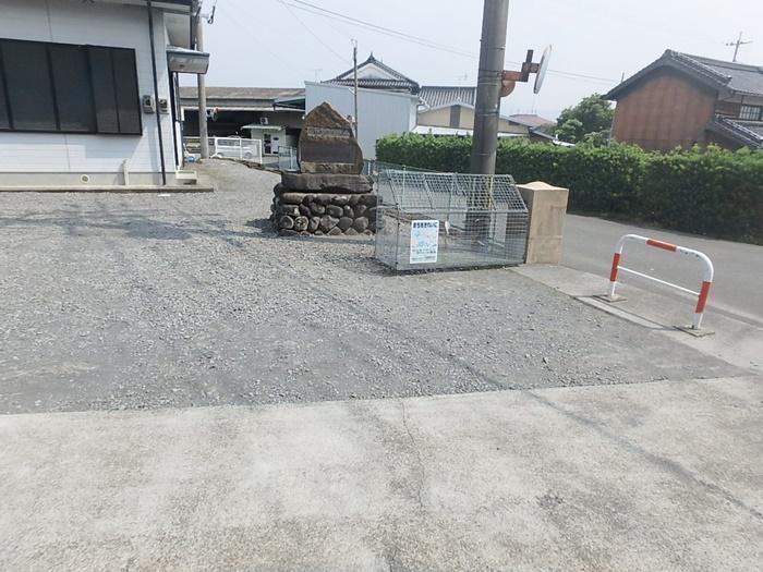 公民館のコンクリート舗装