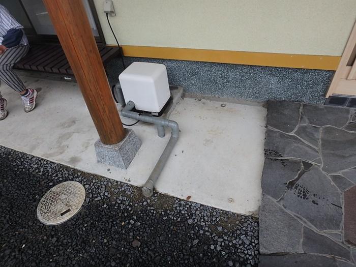 井戸ポンプの取替え