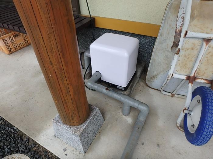 井戸ポンプの劣化
