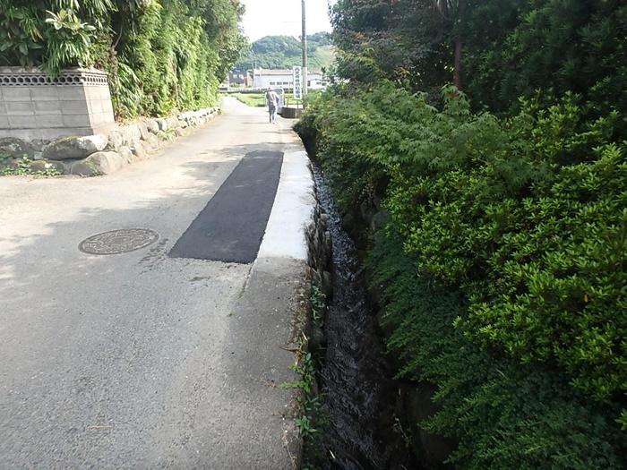 道路陥没修繕工事