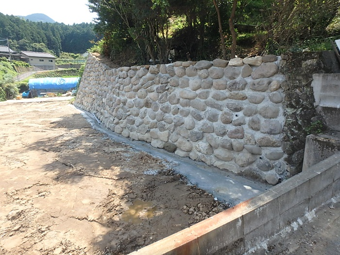 石積み工事