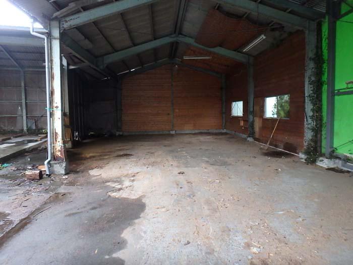 製材所の倉庫