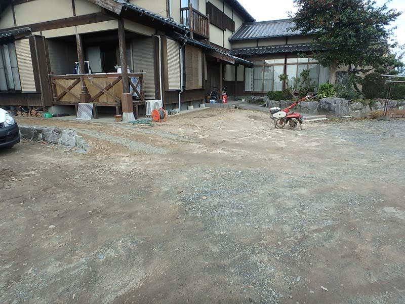 解体工事 ブロック塀