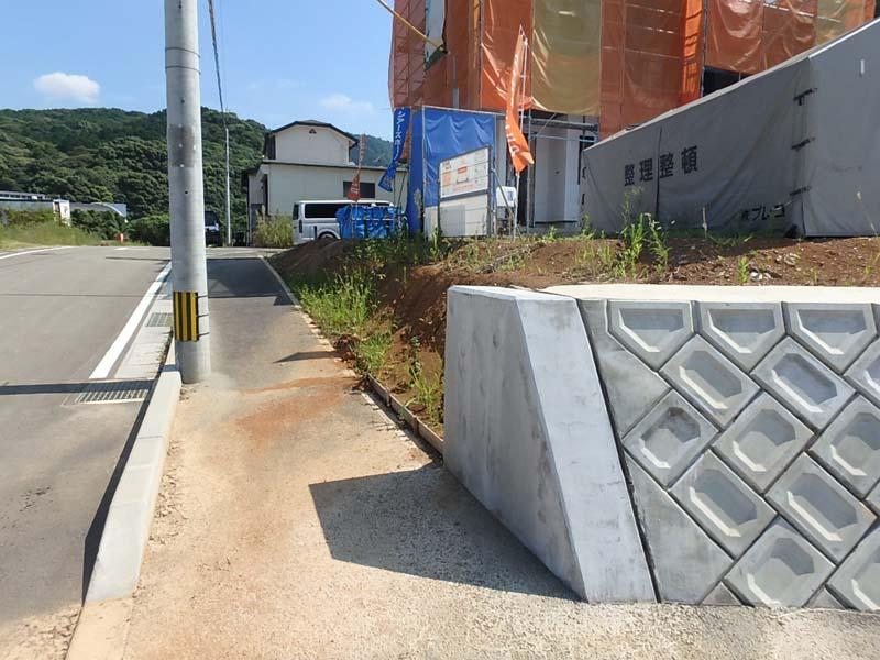 擁壁 土間コンクリート