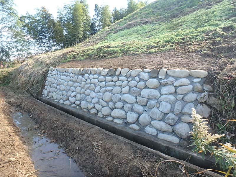 石積 堤 用水
