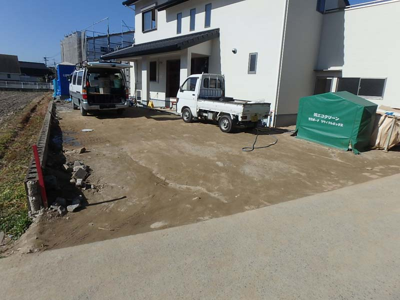 コンクリート舗装 吉井町