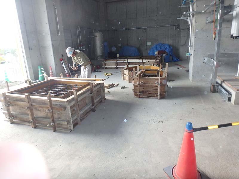 機械基礎 三菱化工機㈱ 福童浄化センター