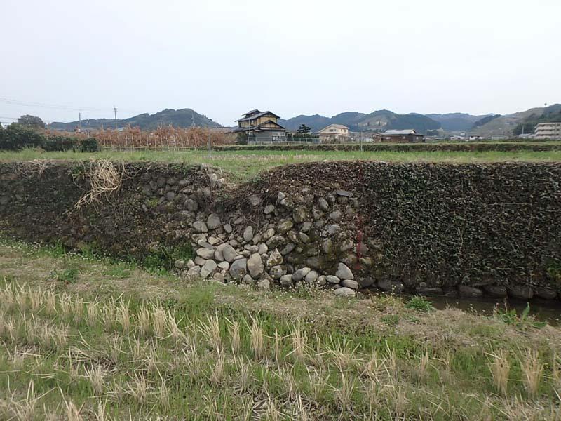 石積修繕 水田