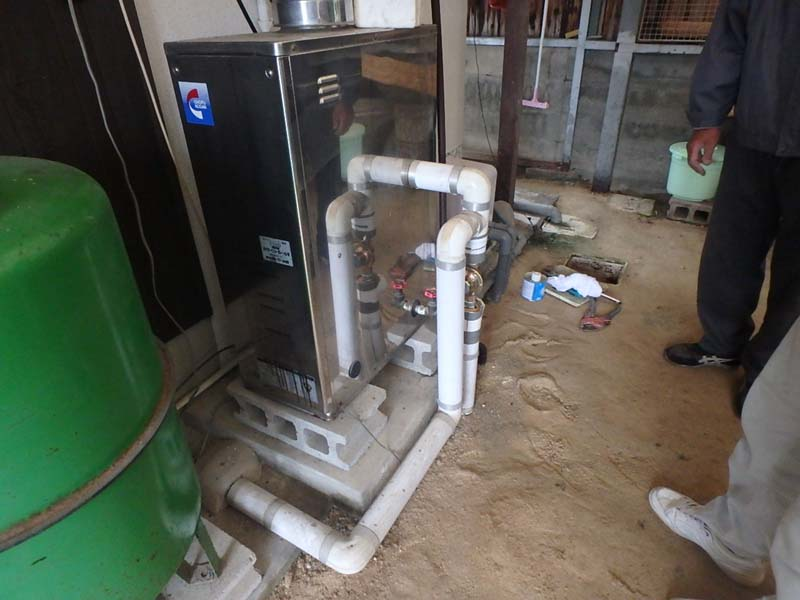 給湯器 設備 井戸ポンプ