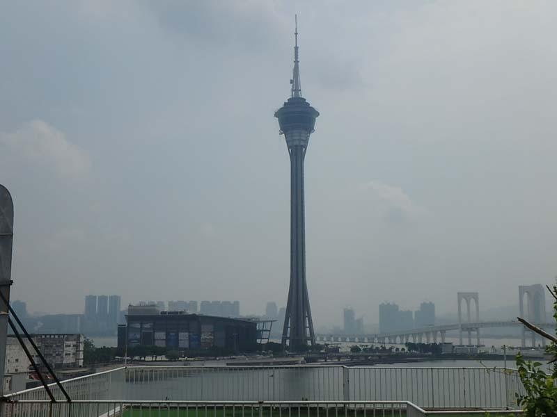 マカオ 香港 一蘭 マカオタワー 100万ドルの夜景