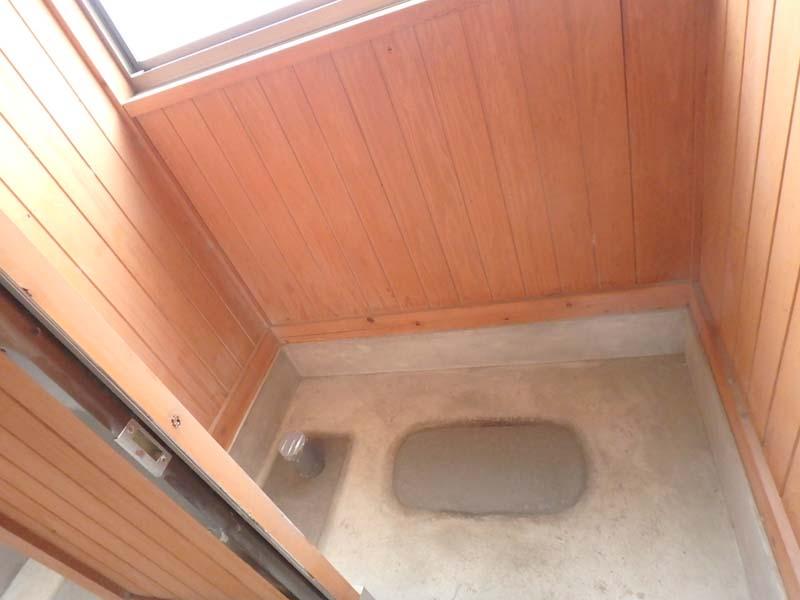 宅内排水 トイレ設置 製材所 手島製材所