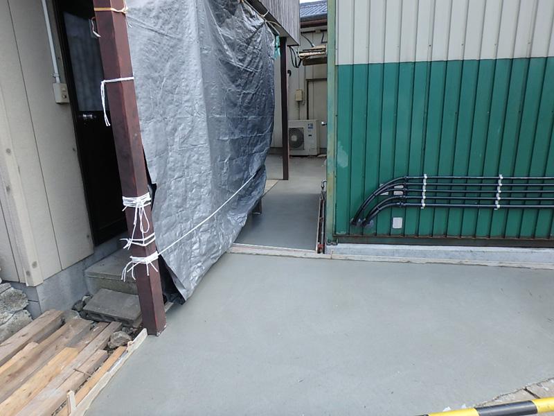 乾燥機 基礎 製材所 マルジョウ