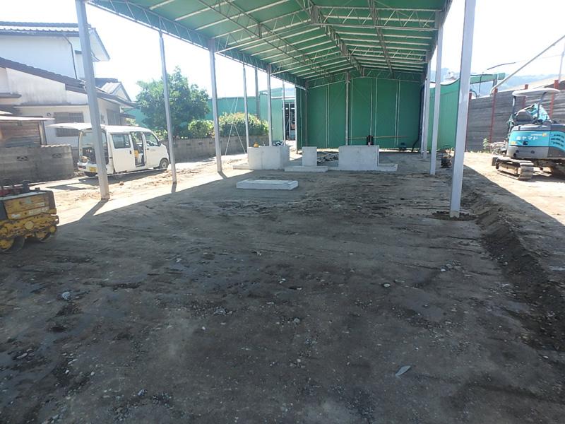 ヤマド マルジョウ 機械 基礎 舗装 コンクリート アスファルト