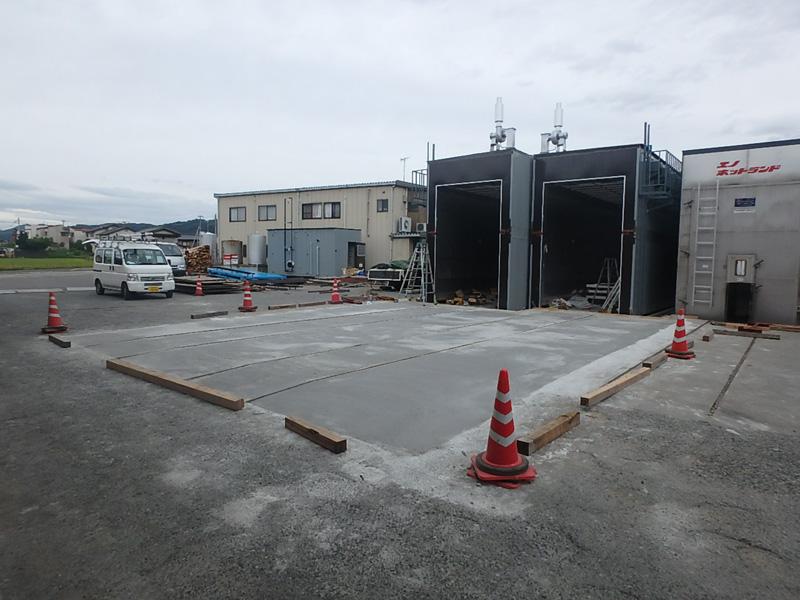 ヤマド マルジョウ 土木 製材所 乾燥機 基礎 リフト 鋼板