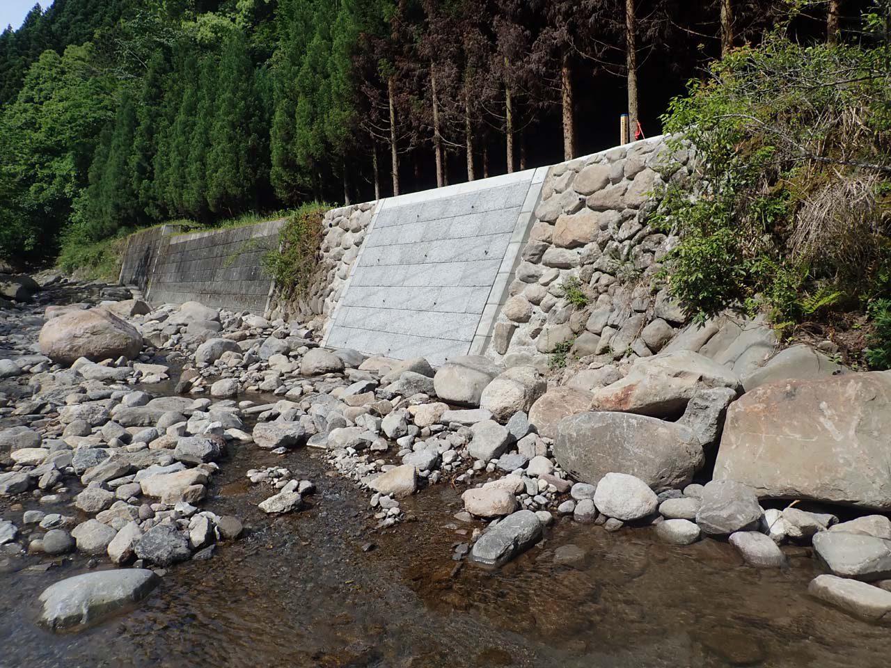 災害復旧 石積