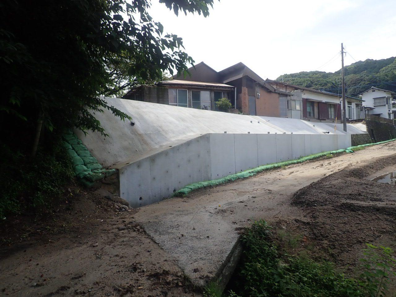 宅地造成 L型擁壁