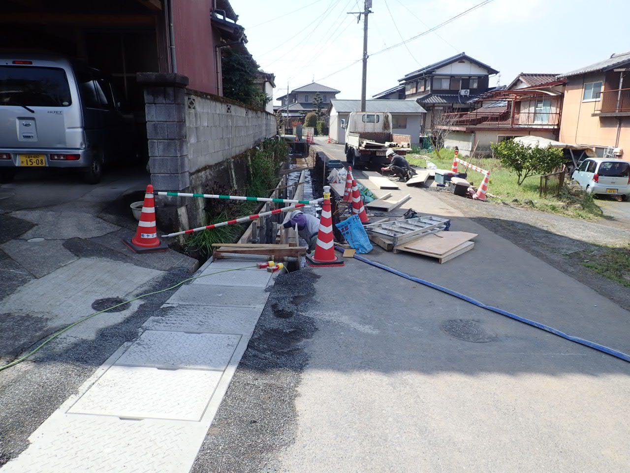 道路改良工事